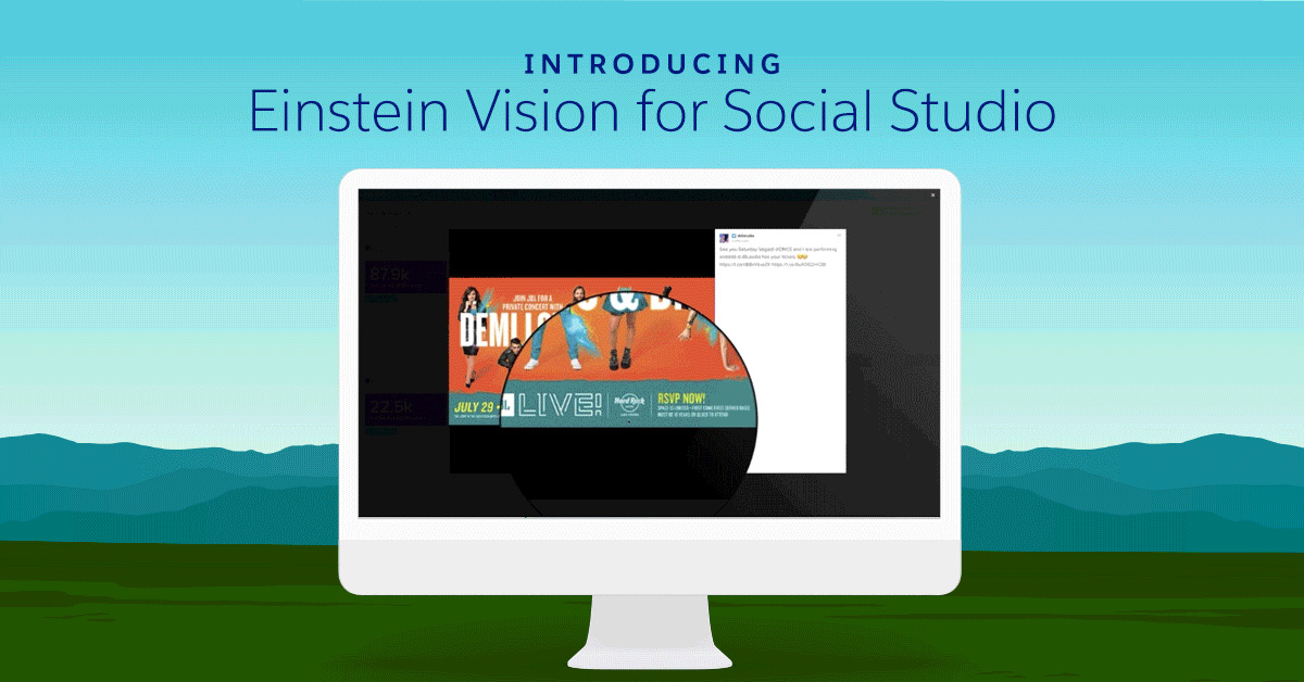 Salesforce Delivers AI-Powered Image Recognition for Marketers with Einstein Vision for Social Studio