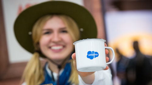 Experience Innovation: the Salesforce and Google partnership on Display at Google Cloud Next '18