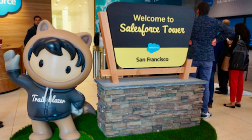 Finally! I Rocket to the Top of Salesforce Tower