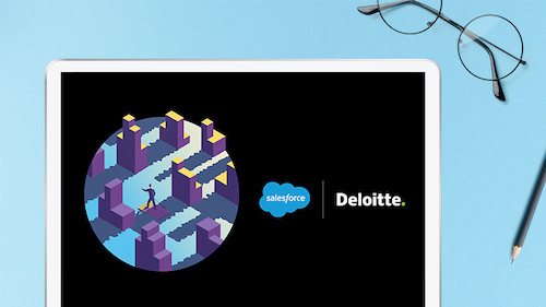 Salesforce e Deloitte