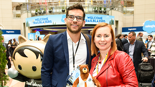 Front Row Access to the Salesforce World Tour in NYC