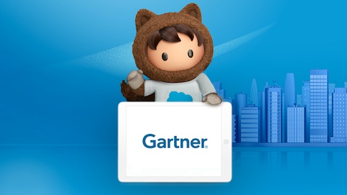 Illustration of Astro with the Gartner logo