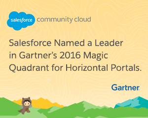 It's a Repeat! Salesforce Named a Leader in Gartner's Magic Quadrant for Horizontal Portals