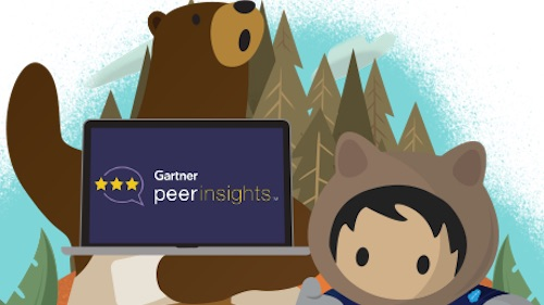 Salesforce's Mobile App Development Platform recognized in Gartner Peer Insights 'Voice of the Customer'