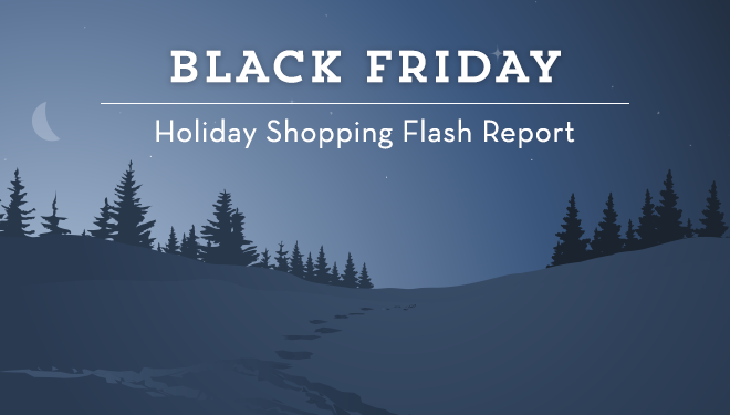 Holiday Shopping Flash Report: Black Friday Sales Up 32%, Digital Clearly Dominates The Season