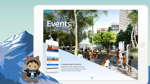 How Salesforce Powers Events With An App Built on the Salesforce Platform