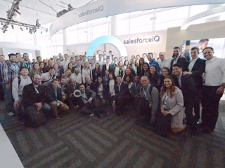 Intelligence at Dreamforce: SalesforceIQ's Recommendations