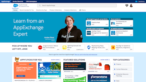 Introducing a Smarter AppExchange: A More Intelligent Salesforce Store