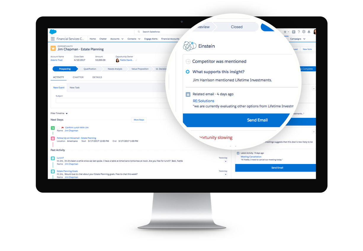 Introducing Financial Services Cloud Einstein: AI-Powered CRM for Financial Advisors
