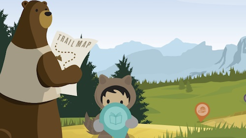 Illustration of Astro and Cody for Salesforce Lightning