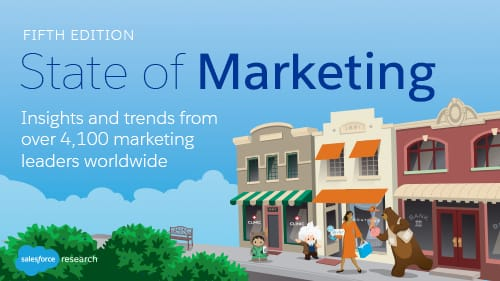 Introducing the 5th Salesforce State of Marketing Report: Here are the Top Trends Redefining the Profession