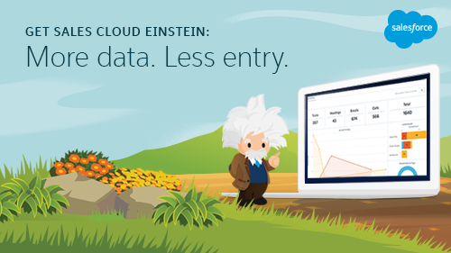 Introducing the Supercharged Sales Cloud Einstein: Predictions, Insights, and Productivity