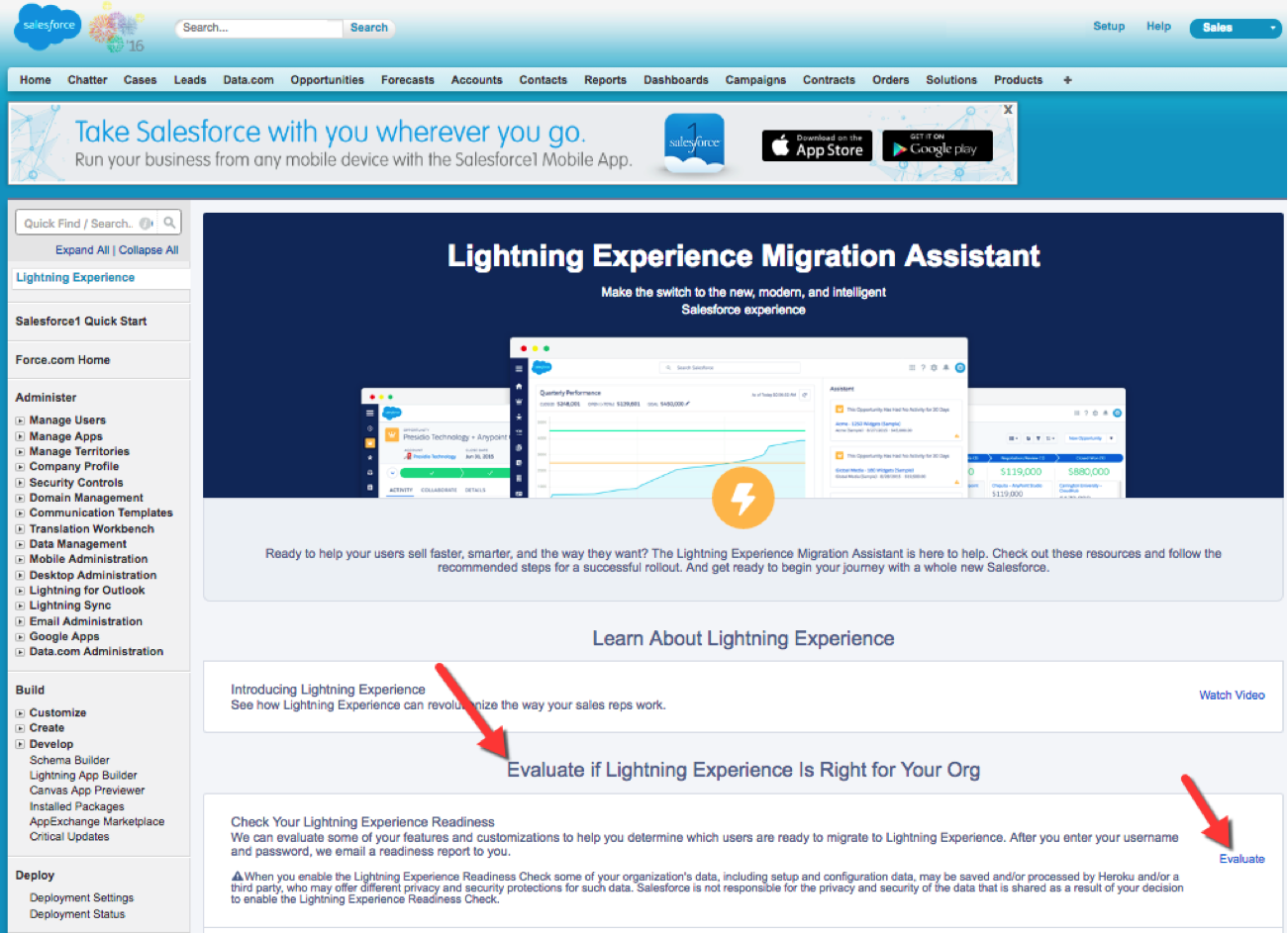 How Do I Know If My Org Is Ready for Lightning Experience?
