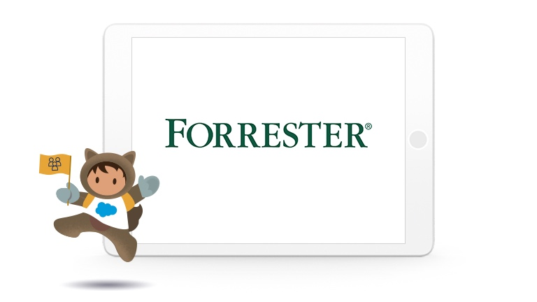 Illustration of Astro with the Forrester logo