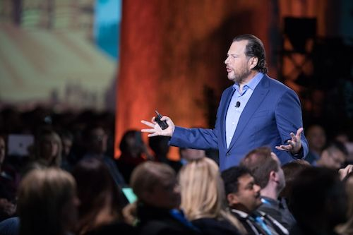 Marc Benioff Named at #3 on Fortune's Businessperson of the Year List