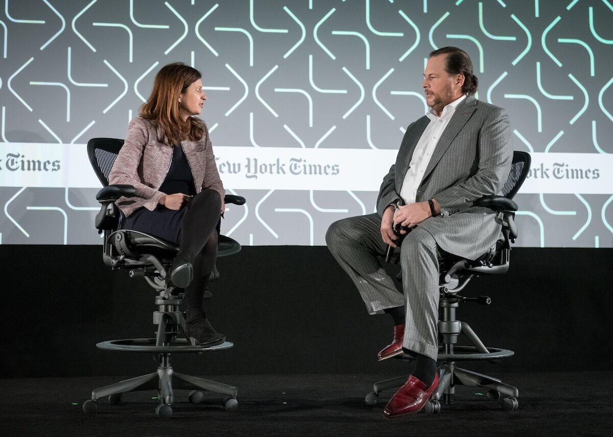 Marc Benioff on Leading with Trust at the New Work Summit