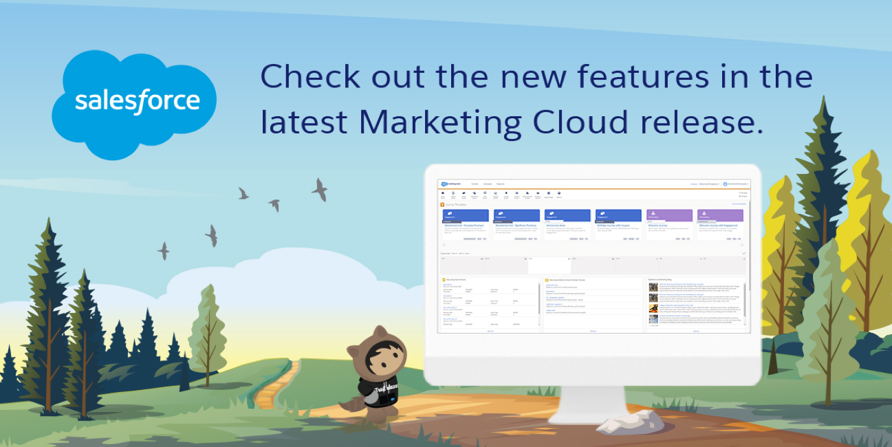 Marketing Cloud April 2018 Release is Live!
