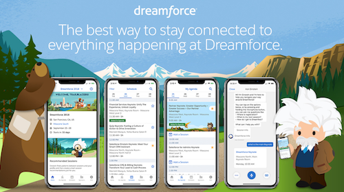 Master Your Dreamforce '18 Experience with the Salesforce Events App