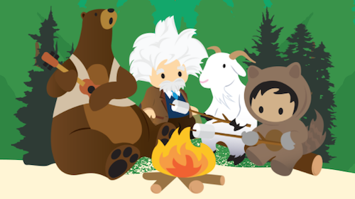 Meet the Trailhead Characters: Astro, Codey, and Friends