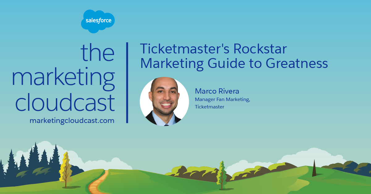 New Podcast: Ticketmaster's Rockstar Marketing Guide to Greatness