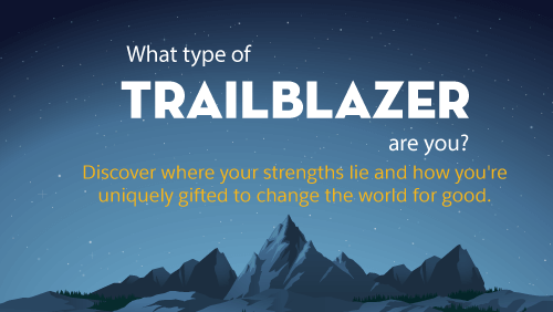 New Quiz: What Type of Trailblazer Are You?