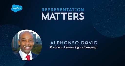 Representation Matters: Alphonso David, Human Rights Campaign