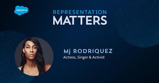 Representation Matters: MJ Rodriquez actress, singer, and activist