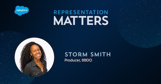 Representation Matters: Storm Smith, Producer, BBDO