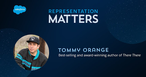 """Representation Matters: Tommy Orange, author of best-selling """"There, There"""""""