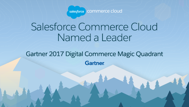 salesforce commerce cloud named a leader in gartner magic quadrant