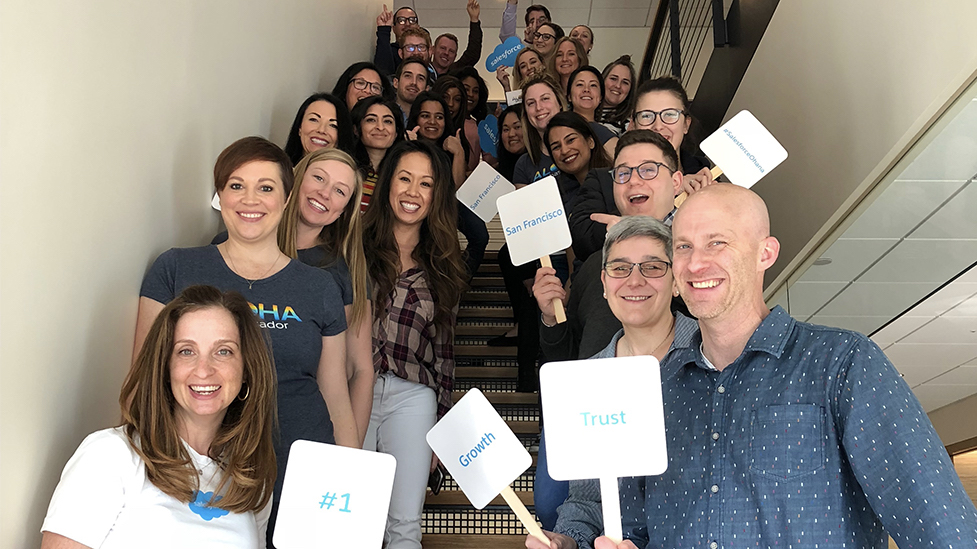 "Salesforce Employees Celebrate #1 on the FORTUNE ""100 Best Companies to Work For®"" List"