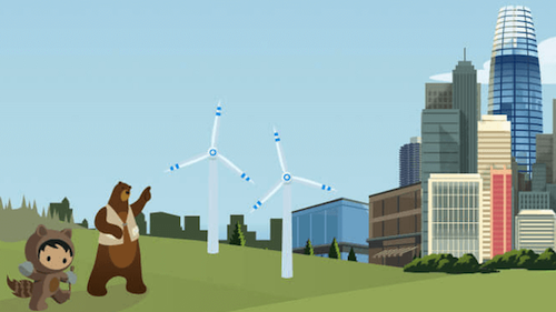 Salesforce Invests in its Largest Renewable Energy Agreement to Date, the Global Climate Action Summit, and a More Sustainable Future