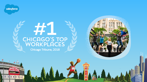 Salesforce is One of the Top Workplaces in Chicago — for the 6th Year in a Row