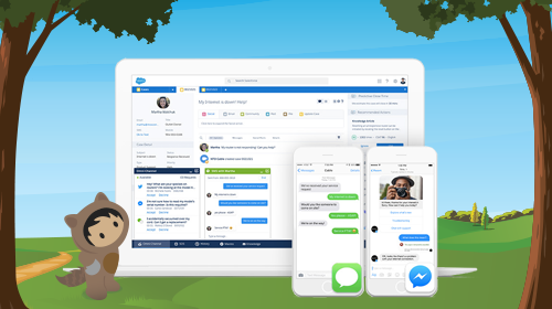 Salesforce LiveMessage on Apple Business Chat