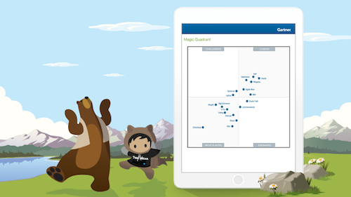 Salesforce Named a Leader in the Gartner Magic Quadrant for Digital Commerce, for Third Consecutive Year