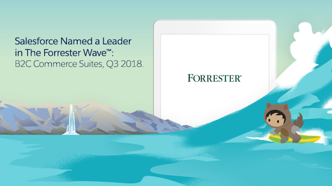 Salesforce Named a Leader in The Forrester Wave™: B2C Commerce Suites, Q3 2018