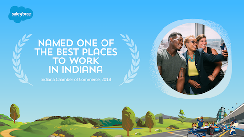 Salesforce Named One of the Best Places to Work in Indiana for the Third Year in a Row