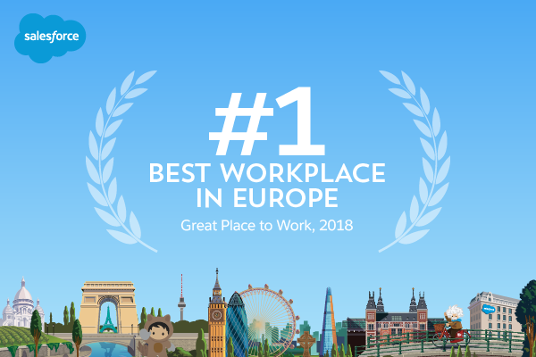 Salesforce Named the #1 Best Workplace in Europe