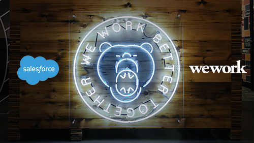Salesforce Teams Up with WeWork to Help Small Businesses Grow Faster