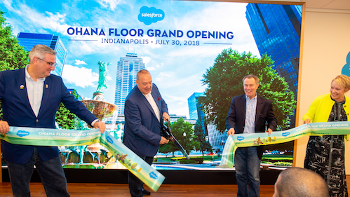 Salesforce Tower Indianapolis Welcomes New Ohana Floor!