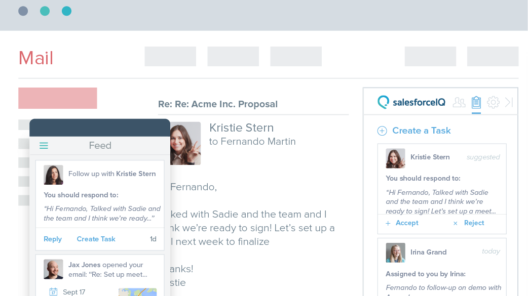 SalesforceIQ Inbox: New Name, Same Apps You Love