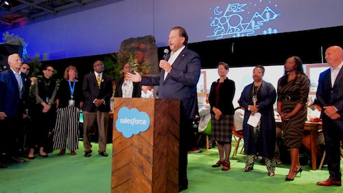 Salesforce's Marc Benioff Joins Bay Area Mayors and Nonprofit Leaders to Announce Grants Addressing Homelessness, Hunger and More