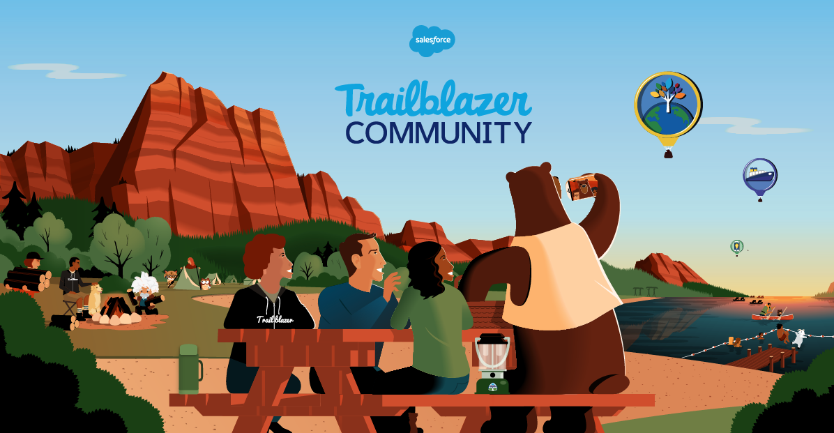 Say Hello to the Trailblazer Community