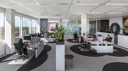 The ''6-Feet Office'' — Designing Workplaces for the New Normal