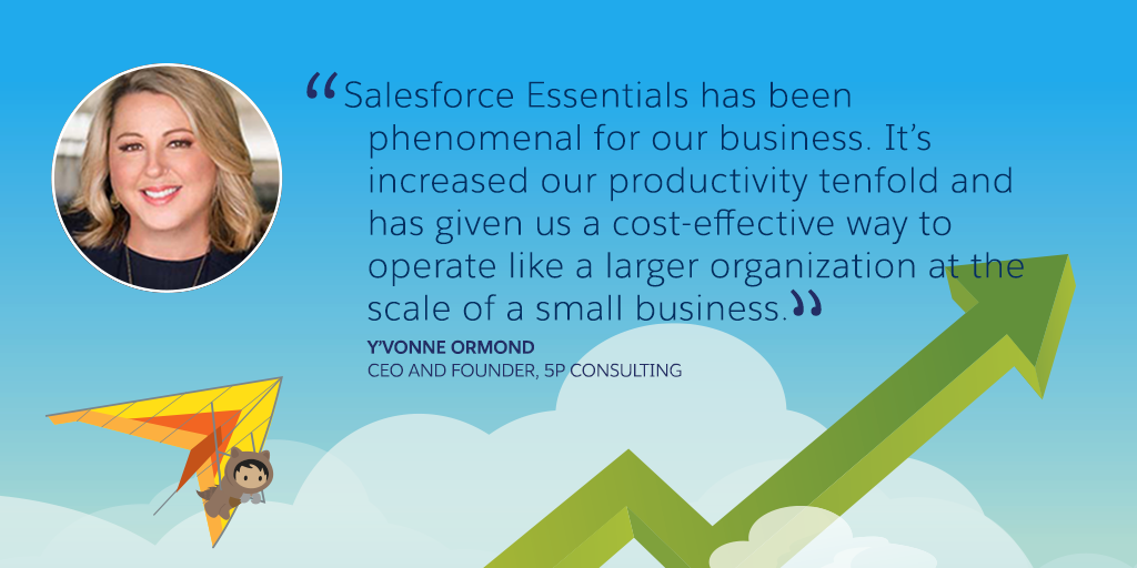 Salesforce Essentials Customer Story - 5P Consulting