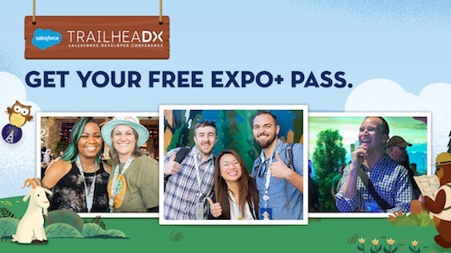 TrailheaDX '19: Get Your Free Expo+ Pass