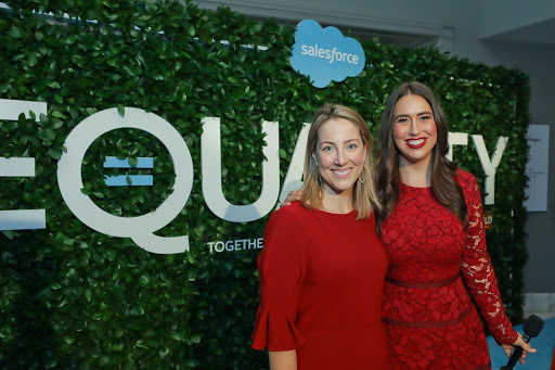 Niki Christoff, SVP, Strategy, and Government Relations at Salesforce and co-host Marissa Kraines, Director, Social and Content Marketing, Strategic Events at Salesforce