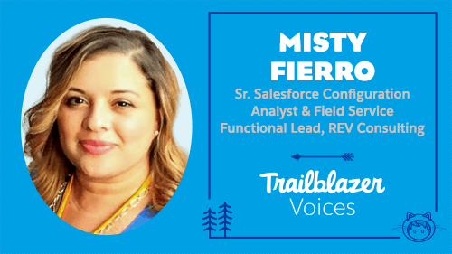 Trailblazer Voices: From Army Veteran and Dog Mom to Salesforce Admin — My Salesforce Story