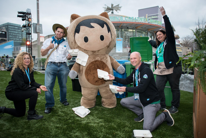 Trailblazers Led the Way to the Most Sustainable Dreamforce Yet