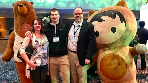 Trailhead Family Competition Sparks Teen's Salesforce Career